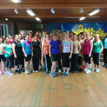 """Tanzsport """"Zumba"""" zum Start am 21.05.2014 sehr gut besucht"""